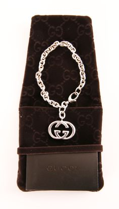 Gucci Silver Logo Chain Bracelet - Gucci double G style bracelet. I love the idea of this, but won't and don't wear it. Time for a new home to someone who will appreciate it! Comes with all its amenities, so you can give it as a gift too!
