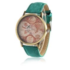 World map watch women watches mens watch vintage style watch world map watch women watches mens watch vintage style watch unique watches boyfriend watchrose gold watch silicone watch bands new pinterest gumiabroncs Images