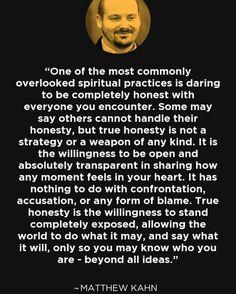 Matt Kahn Quotes Favorite Quotes From Spiritual Teacher Matt Kahntruedivinenature .