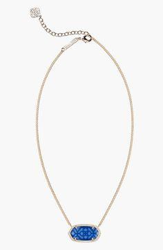 Kendra Scott 'Dylan' Stone Pendant Necklace | Nordstrom