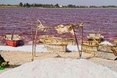 Cosa vedere in Senegal: il Lago Rosa