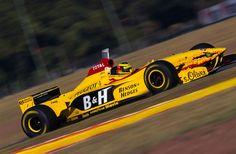 JORDAN  197 - PEUGEOT V10   Ralf Schumacher