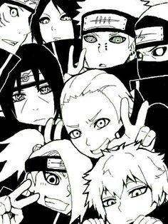 Akatsuki, cute, Kisame, Itachi, Konan, Pain, Kakuzu, Hidan, Deidara, Sasori; Naruto