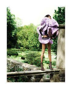 Chanel Iman by Doug English