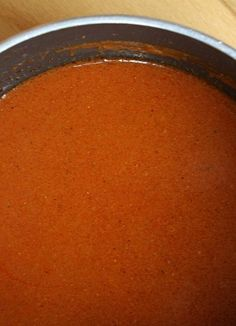 How to Make Your Own (easy) Homemade, Best-Ever Enchilada Sauce #Recipe | RecipeGirl.com