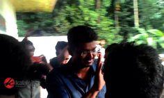 #Vijay at #Puli Shooting Spot  More Stills @ http://kalakkalcinema.com/vijay-at-puli-shooting-spot/