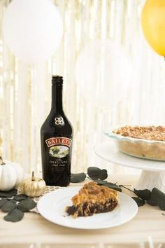 Satiate your delights with a Baileys peanut butter fudge pie with salted caramel. #partner