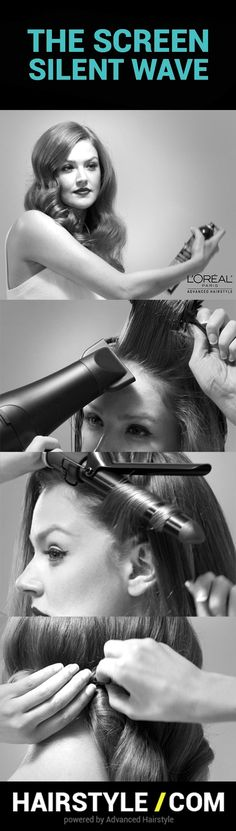 Advanced Hairstyle by L'Oreal Paris products works best to create gorgeous Screen Siren Waves @hairstyledotcom