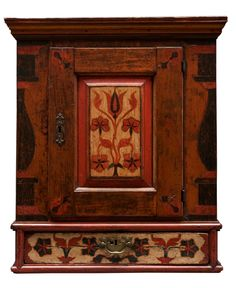 Hanging Cupboard -  Late 18th century