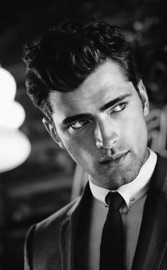 Sean O Pry / Male Models . -  He's my biggest inspiration more than anything. He has been ranked the #1 paid male model, the face of Calvin Klein and earns $500,000 a year. All to be perfect for the industry :-)