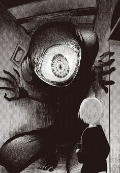 Welcome to Manga Macabre Creepy Art, Scary, Manga Art, Anime Art, Manga Anime, Ero Guro, Art Noir, Drawn Art, Image Manga