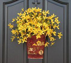 Spring, front door