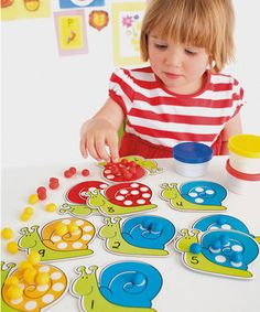ELC Snails and Spots - educational toys - Mothercare Counting Activities, Montessori Activities, Preschool Learning, Snail And The Whale, Snail Craft, Sports Games For Kids, Learning Through Play, School Fun, Educational Toys