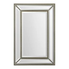 Renwil Mia Mirror Accent Mirrors in Antique Gold Leaf Beading #Renwil