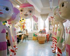 Katja Tukiainen's studio