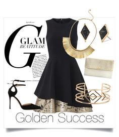 """""""Glam"""" by paulinhag on Polyvore featuring Slate & Willow, Sergio Rossi and Stella & Dot"""