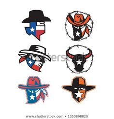 Mascot icon illustration of head of a Texan outlaw or bandit and a Texas longhorn bull on isolated background in retro style. Texas Longhorns, Graphic Design Tutorials, Texans, New Pictures, Retro Fashion, Royalty Free Stock Photos, Retro Style, Disney Characters, Retro Illustration