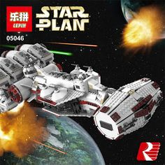 Lepin 05046 1748Pcs New Star War Series The Tantive IV Rebel Blockade Runner Set Building Blcoks Bricks Toys 10019 (32787202058)  SEE MORE  #SuperDeals