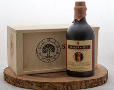 Spartan Oil Extra Virgin Olive Oil - Stoneware Bottle