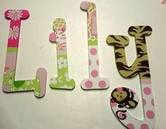 more jungle letters