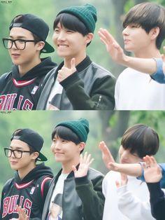 BTS Jimin, J-Hope & V © PASTEL JHOPE | Do not edit.