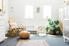 Neutral modern nursery ideas                                                                                                                                                     More