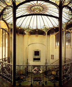 horta rotonde octagonale - Hotel Tassel