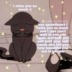 No photo description available. Cute Cat Memes, Cute Love Memes, Funny Memes, Flirty Memes, Love You Meme, Wholesome Pictures, Crush Memes, Boyfriend Memes, Cute Messages
