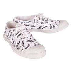 Baskets Plumes Bensimon x Swildens Teen Blanc Swildens Teen - Chaussures - Smallable