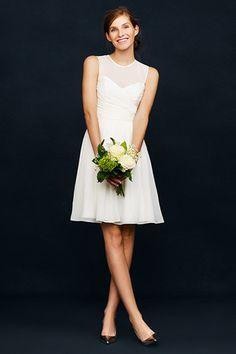 52d325002f3 J.Crew Wedding Dresses - Simple