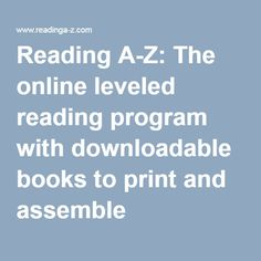 Award-winning reading solution with thousands of leveled readers, lesson plans, worksheets and assessments to teach guided reading, reading proficiency and comprehension to students Online Reading Programs, Summer Courses, Leveled Readers, Reading Levels, Numeracy, Guided Reading, Comprehension, Lesson Plans, Programming