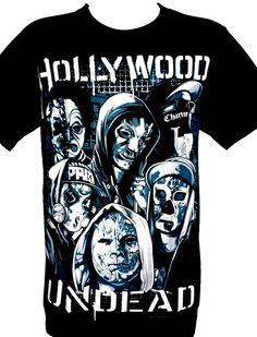Hollywood Undead Rock Band Metal Picture Graphic par BestRockShirts, $14.90