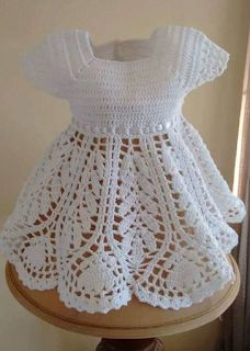 Sweet Nothings Crochet , A beautiful lotus baby dress, free crochet pattern, girls' dress, free crochet dress pattern, free crochet lotus dress pattern