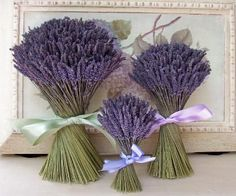 Arreglo floral a base de lavanda #ideas #decoracion #flores #decorarconflores