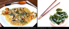 EL RINCÓN DEL TENZO: Estofado de lentejas rojas, shiitake y albahaca fresca