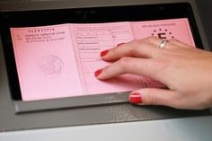 Scan des pièces - permis de conduire national ou international pour les abonnés non européens