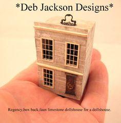 Desde DJD Dollhouse para una casa de muñecas amueblada. POR DebJacksonDesigns
