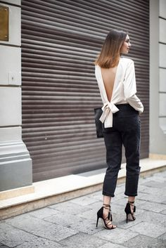 Find Out Where To Get The Top Street Style 2016, Street Chic, Street Wear, Looks Chic, Looks Style, Skinny Jeans Negros, Look Fashion, Womens Fashion, Fashion Trends