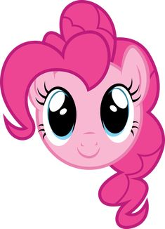 Pinkie Pie Face by PaulySentry on DeviantArt Festa Do My Little Pony, My Little Pony Costume, Little Pony Cake, My Little Pony Birthday Party, 1st Birthday Girls, My Little Pony Invitations, Filly, Raimbow Dash, Unicorn Pictures