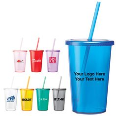 Crackle and sizzle during the next campaign Custom 16 Oz sizzle tumblers! #promotionalproduct #customtumblers #tumberswithstraw