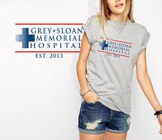 Grey Sloan Memorial Hospital shirt Greys anatomy T-Shirt unisex s - xxl