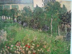 Vincent van Gogh, Il Giardino di Daubigny (1890) - Google Search