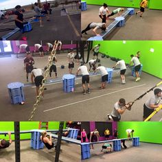 Railyard - it's for group exercise.  Increase balance, agility and multi-plane demand while improving challenge in global function.