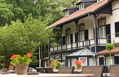 Kleinschalig hotel aan de voet van de Posbank.