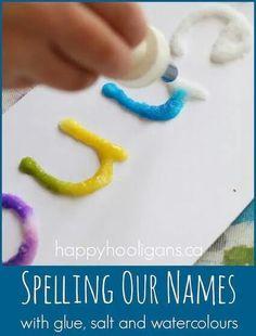 Salt water and glue names