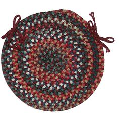Colonial Mills Chestnut Knoll Round Braided Chair Pad & Reviews   Wayfair