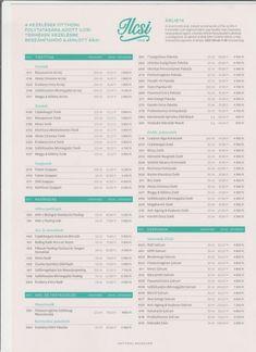 ILCSI Lakossági árlista 2019.- lilakozmetika.hu Bullet Journal