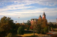 A photo a guest took of Samford Hall from their room at The Hotel at Auburn University! #HotelatAuburn
