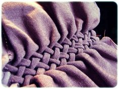 How to make fabric look braided tutorial. Perfect idea & looks amazing...
