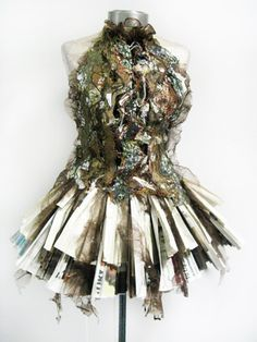 25 Ideas Fashion Design Dress Textiles For 2019 Paper Fashion, Fashion Art, Fashion Design, Fashion Details, Dress Fashion, Fashion Textiles, Fashion Themes, Flower Fashion, Trendy Fashion